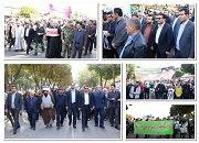 برگزاری راهپیمایی باشکوه سیزدهم آبان ماه در شاهین شهر