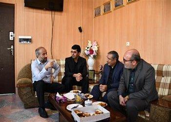دیدار شهردار و رئیس شورای اسلامی شهرکرد با سرپرست جدید اداره کل فنی و حرفه ای استان