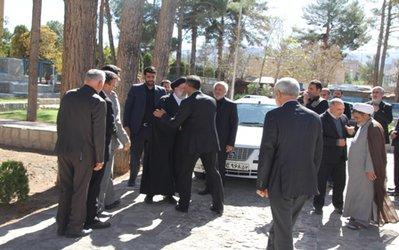 گزارش تصویری دیدار تولیت آستان قدس رضوی