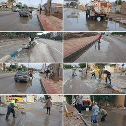جدول گذاری ، زیرسازی و آماده سازی خیابان احداثی جدید جهت آسفالت در کوی بهروز