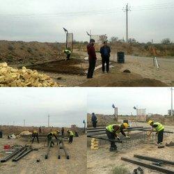 اجرای عملیات و راه اندازی جایگاه تقلیل فشار گاز در کارخانه آسفالت شهرداری تاکستان توسط شرکت گاز