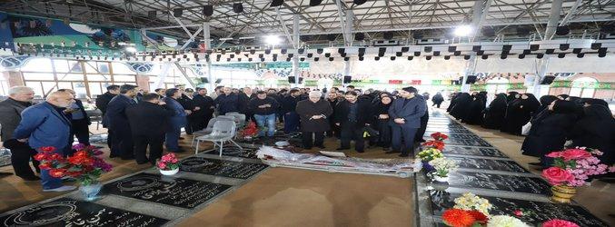 مراسم تشییع پیکر پیشکسوت ورزش گیلان و پدر سخنگوی شورای اسلامی شهر رشت