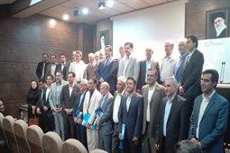 اعطای احکام اعضای جدید هیئت مدیره نظام مهندسی ساختمان استان کرمان در دوره هشتم