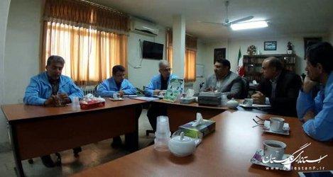 بازدید جمالی مدیرکل مدیریت بحران از فرمانداری کردکوی برای آمادگی بیشتر در شرایط حوادثی + تصاویر