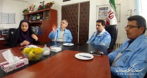 بازدید مدیرکل مدیریت بحران گلستان از فرمانداری و پروژههای حوادثی بندرگز + تصاویر