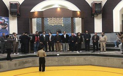 مراسم استقبال از مدال آور جهانی
