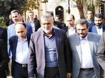 محمود حجتی وزیر جهادکشاورزی از باغ تاریخی گلشن طبس دیدن کرد.