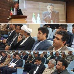 حضور شهردار خرمشهر در آئین تودیع و معارفه دادستان خرمشهر