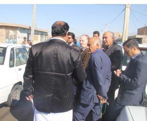 بازدید کمیسیون عمران و حمل و نقل شورای اسلامی شهر زاهدان از سطح منطقه۴