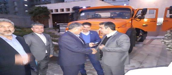 کمک صد میلیاردی شهرداری تهران به مناطق زلزله زده استان