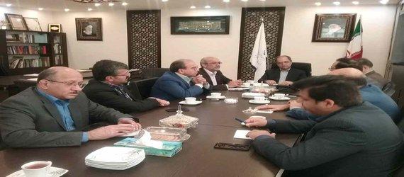 دیدار فرماندار شهرستان یزد با مدیرکل راه وشهرسازی استان یزد