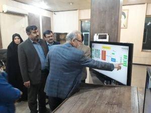 بازدید شبانگاهی مدیر کل مدیریت بحران خوزستان از وضعیت آب غدیر اهواز