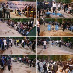 برگزاری مسابقه چند جانبه قویتران مردان توسط شهرداری خرمشهر