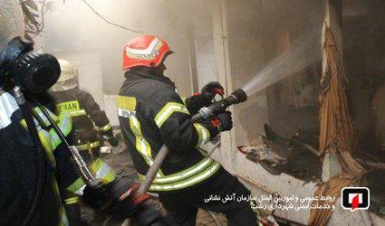 پوشش ۱۶ مورد حریق و حادثه توسط آتش نشانان شهر باران در ۴۸ ساعت گذشته /آتش نشانی رشت