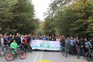 برگزاری همایش دوچرخه سواری ویژه همکاران بنیاد مسکن استان گلستان