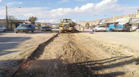 آغاز احداث بلوار محله شیرانی-جلیلآباد و کاهش بار ترافیکی شهر شیرانی از توابع شهرستان لردگان