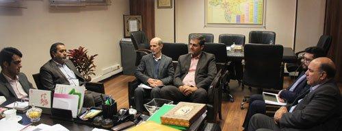 دیدار مسئول سازمان بسیج مهندسی عمران و معماری اصفهان با ریاست