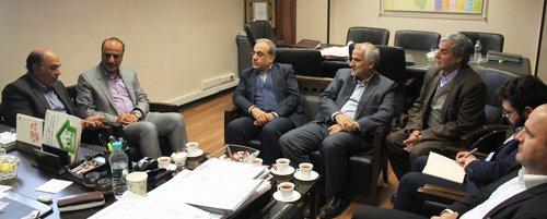 دیدار مدیرعامل شرکت مخابرات استان اصفهان با ریاست سازمان