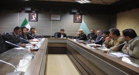 نشست مشترک ادارات بنیاد مسکن، ثبت اسناد، منابع طبیعی در خصوص صدور اسناد مالکیت روستایی استان