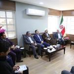 دیدار صمیمی رئیس و اعضای شورای اسلامی شهر با فرماندار شهرستان ارومیه و تبریک به مناسبت انتصاب وی