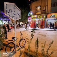 اجرای برنامه تلویزیونی «زندهرود» در چهارباغ عباسی