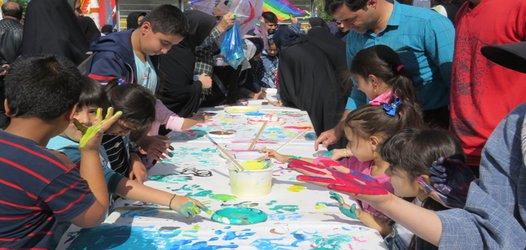برنامه هفته جهانی کودک برگزار شد