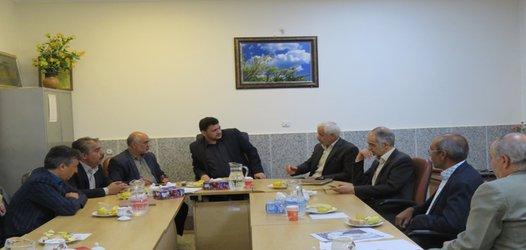 جلسه پیگیری مشکلات شهرستان خوانسار