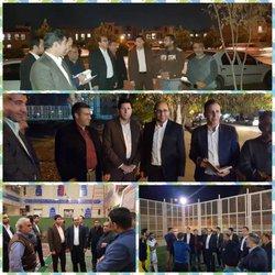 دکتر ناصری: احداث چند پارک و فضای سبز در محله احمد اباد در آینده نزدیک