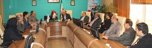 دیدار اعضای هیات مدیره مجمع مهندسان خیر امام علی(ع) با ریاست سازمان