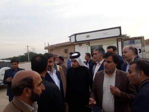 مدیر کل مدیریت بحران خوزستان بر تسریع در روند پروژهای عمرانی ملاشیه تاکید کرد