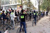 برگزاری همایش دوچرخه سواری با شعار محیط زیست در آستانخ اشرفیه