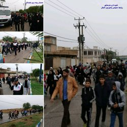 برگزاری همایش پیاده روی خانوادگی با حضور پرشور شهروندان