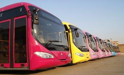 ۱۲ دستگاه اتوبوس جدید وارد...