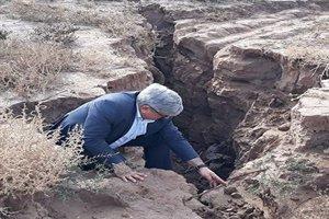 هشدار نسبت به آثار مخرب فرونشست زمین در اشتهارد کرج