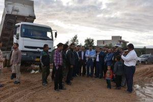 بازدید از سد تنظیمی شهدای رامشیر و  روستای چم اسحاق