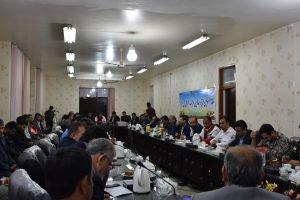 گزارش تصویری شورای هماهنگی مدیریت بحران استان در شهرستان رامشیر