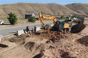 پیشرفت ۳۰ درصدی  پروژه بلوار ۳۰ متری ورودی  ناحیه منفصل شهری ننله