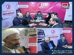 معرفی کتب مهندسی و دستاوردهای علمی سازمان در غرفه جامعه مهندسان ساختمان ایران