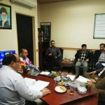 برگزاری جلسه توزیع سهمیه قیر با حضور مدیرکل محترم