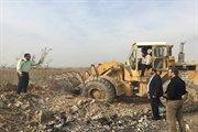 رفع تصرف ۵ هکتار زمین در شهرستان قرچک