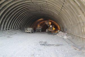 اتمام حفاری تونل باغان به زودی