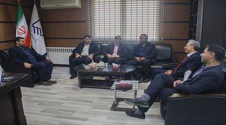 دیدار مدیرکل بیمه ایران استان با هیات رئیسه سازمان