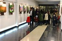 افتتاح نمایشگاه عکس قاب حیات ۴ در همدان