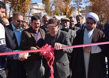 دو دهنه پل  مسیر دسترسی بلوار بوذر جمهری با مشارکت خیری به بهره برداری رسید.