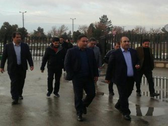 بازدید میدانی شهردار منتخب مشهد از پروژه پیشخوان آرامگاه فردوسی