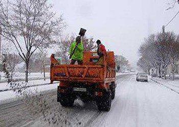 مانور عملیات برف روبی در قزوین برگزار می شود