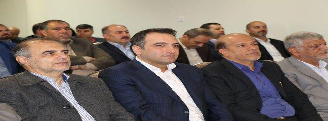 حضور شهرداران شهرهای استان...