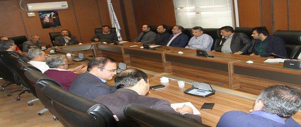 نشست مدیران واحدها با رییس و هیات رییسه سازمان