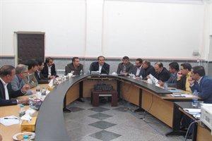 تشکیل جلسه کمیسیون ماده ۵ شهر ایلام در  معاونت امور عمرانی استانداری ایلام