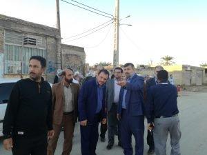 بازدید مدیر کل مدیریت بحران استان از منطقه ملاشیه